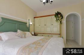 田园风格卧室欧式家具图片