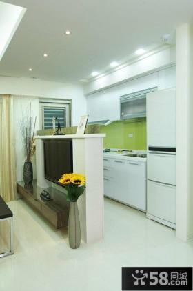 简约小户型厨房装修设计效果图