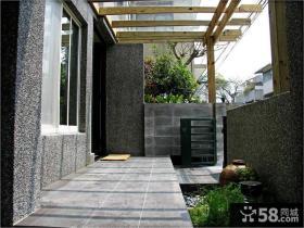 温馨现代风格家居装修阳台设计