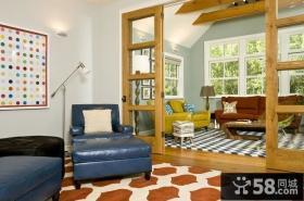 简约风格装修设计 现代简约客厅玄关装修