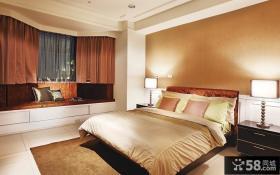 美式风格别墅室内卧室效果图片