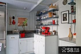复式房屋厨房装修效果图