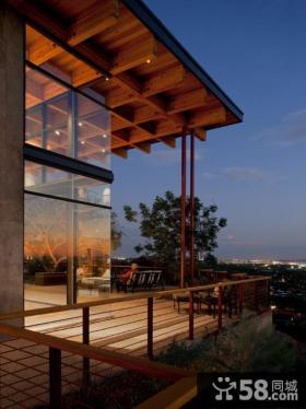别墅阳台设计图