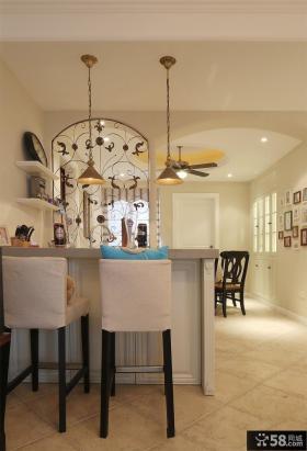 时尚美式家居吧台吊灯图片大全