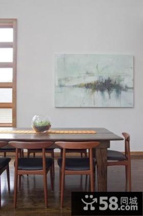 含有中式元素的现代风格装修效果图餐厅图片
