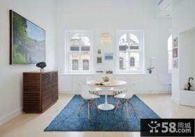 北欧风格设计复式家居装修图片