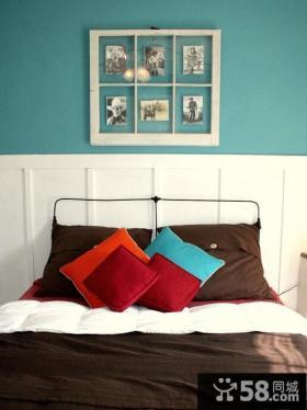 复式楼卧室婚房设计效果图
