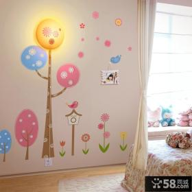 卧室立体墙贴图片大全