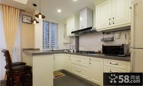 美式乡村风格厨房设计效果图片欣赏