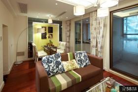 时尚家装小复式楼室内装修效果图