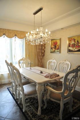 美式家居风格餐厅装修图片大全