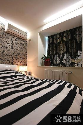 卧室带飘窗装修设计效果图