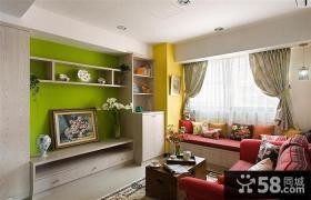60平现代小户型室内装饰设计效果图