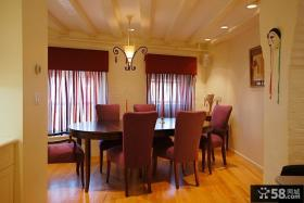 复式家庭餐厅装修效果图