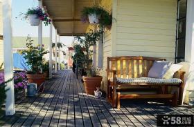 优质阳台花园设计效果图欣赏