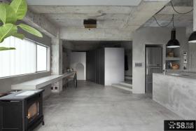极简主义创意风格别墅室内设计效果图