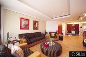 田园风格80平米小户型客厅设计效果图