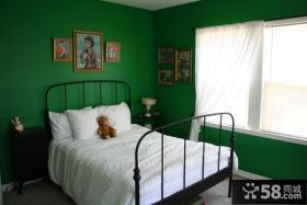 绿色家居儿童房装修效果图