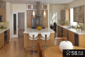 90平三室一厅厨房装修图