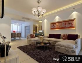 客厅沙发背景墙装饰效果图