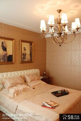 小卧室壁纸家装设计效果图