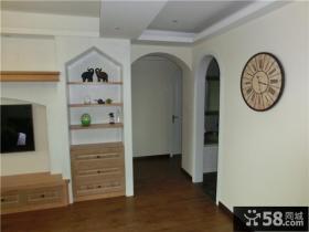 美式风格家居室内过道装修设计