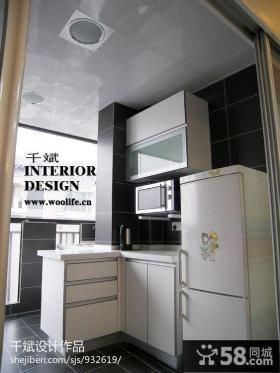现代简约厨房集成吊顶效果图片
