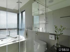 现代家装卫生间室内效果图欣赏