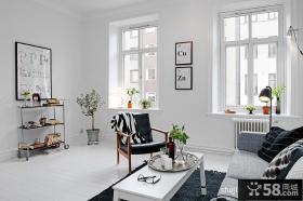 北欧60平米小户型客厅装修效果图欣赏