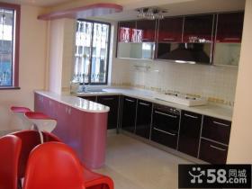 吧台隔断厨房装修设计