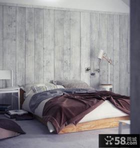 美式乡村风格卧室装修效果图大全2014图片