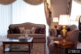 古典欧式客厅灯效果图