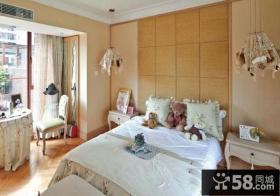 现代风格三室两厅家装卧室设计效果图