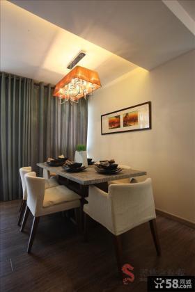 家庭餐厅不吊顶灯具设计