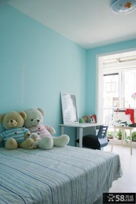 简约80平米二居儿童房玩具图片
