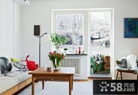 简约风格65平米两室一厅装修效果图