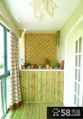 家装阳台吊顶欣赏