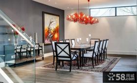 北欧风格家装餐厅装修设计图片