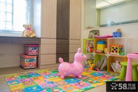 简约现代三居儿童房装饰设计图片