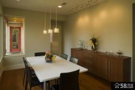 现代复式楼简单餐厅装修