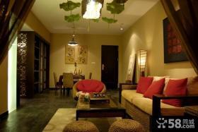 新中式客厅吊顶装修效果图大全图片