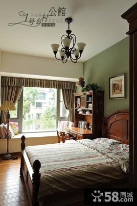 美式乡村风格小卧室装修效果图