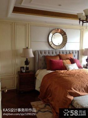 欧式风格主卧室室内装饰效果图