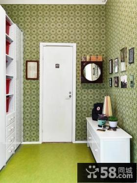 进门玄关门厅柜装饰效果图
