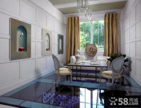 别墅客厅吊顶装饰效果图简约风格