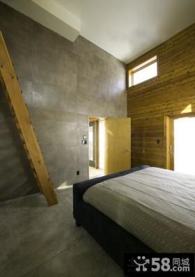 现代美式风格家具卧室装修效果图