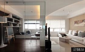 现代家装设计室内样板间效果图