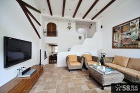 70平米小复式客厅装修效果图大全图片