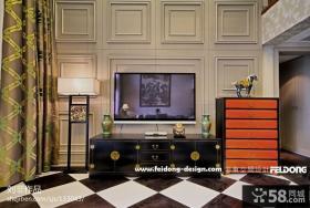 3d客厅电视背景墙设计