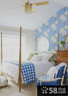 地中海风格特小卧室装修效果图